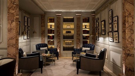 Members-Only Lounge at The Lanesborough Club & Spa