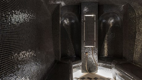 Luxury Steam Room at The Lanesborough Club & Spa, Luxury Members Club