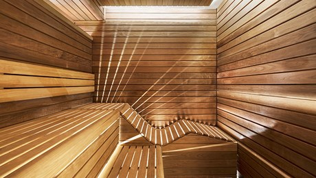 Sauna at The Lanesborough Club & Spa, Luxury Members Club