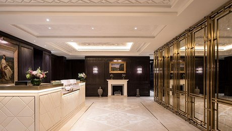 Reception & Arrival Experience at The Lanesborough Club & Spa, Luxury Members Club