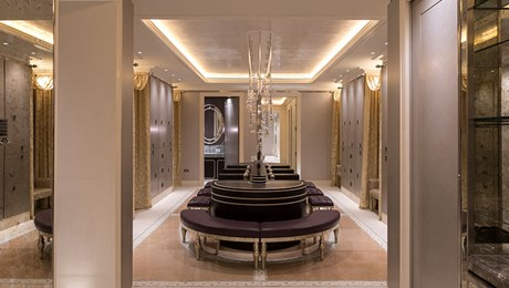 Female Changing Room, Luxury Health Club, The Lanesborough Club & Spa